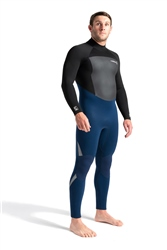 C-Skins Legend 5mm Back Zip Wetsuit - Ink Blue & Black