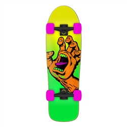"Santa Cruz Missing Hand Shaped 31.7"" Skateboard - Multi"