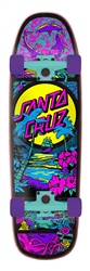 "Santa Cruz Time Warp Shaped 32.26"" Skateboard - Multi"