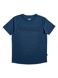 Quiksilver Modern Legends T-Shirt - Moonlit Ocean Heather