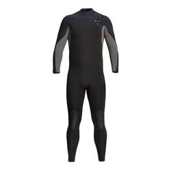 Xcel Phoenix 4/3mm Chest Zip Wetsuite (2020)- Black & Graphite