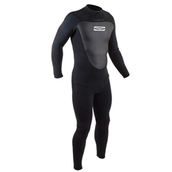 Gul Response 5/3mm Back Zip Wetsuit - Black