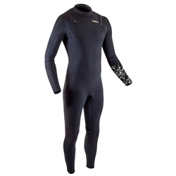 Gul Response FX 5/4mm Chest Zip Wetsuit - Black & Camo