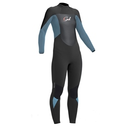 Gul Response 5/3mm Back Zip Wetsuit - Blue