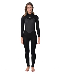 Rip Curl Omega 4/3mm Back Zip Wetsuit (2020) - Black