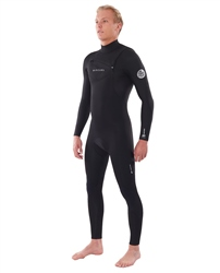 Rip Curl Dawn Patrol Performance 5/3mm Chest Zip Wetsuit (2020) - Black