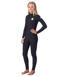 Rip Curl Dawn Patrol 5/3mm Back Zip Wetsuit (2020) - Black