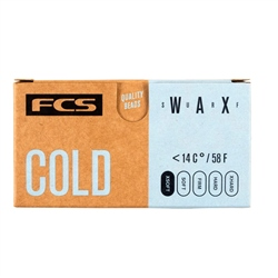 FCS Surf Wax Cold - Assorted