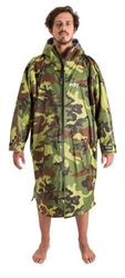 Dryrobe Large Advance Long Sleeved Dryrobe - Camo & Grey
