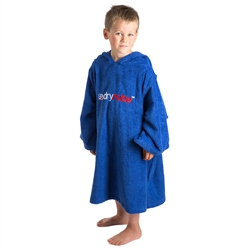 Dryrobe Small Kids Organic Towel Dryrobe - Royal Blue