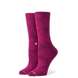 Stance Boss Lady Socks - Merlot