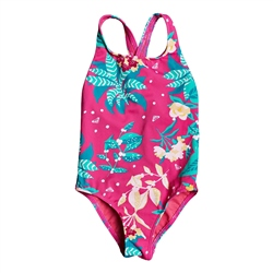 Roxy Magical Sea One-Piece Swimsuit - Pink