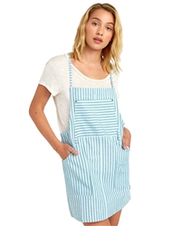 RVCA River Dress - Green Stripe