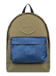 Quiksilver Everyday Poster Embossed 25L Backpack - Burnt Olive