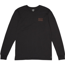 Billabong Die Cut Long Sleeved T-Shirt - Black