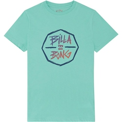 Billabong Octo T-Shirt - Light Aqua