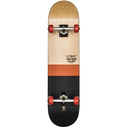 Globe G2 Half Dip 2 Skateboard - Natural & Rust