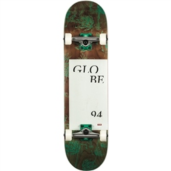 Globe G2 Typhoon Skateboard - Green