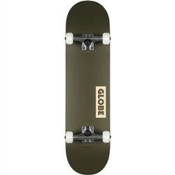 Globe Goodstock Skateboard - Fatigue Green