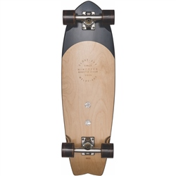 "Globe Sun City 30"" Skateboard - Black Burle & White Pearl"