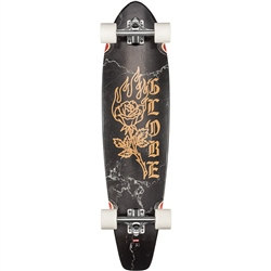 "Globe The All-Time 35"" Skateboard - BLlack Rose"