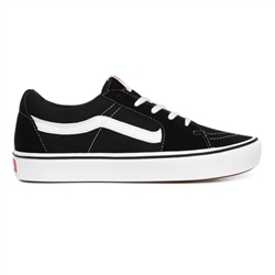 Vans Classic Comfycush SK8 Low Shoes - Black & True White