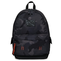 Superdry Disruptive Camo Montana 21L Backpack - Black Camo