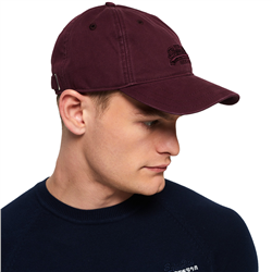 Superdry Orange Label Twill Cap - Port