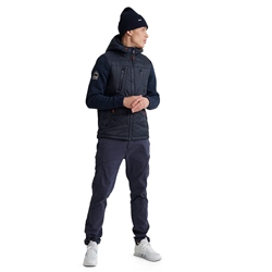 Superdry Storm Hybrid Jacket - Navy & Black