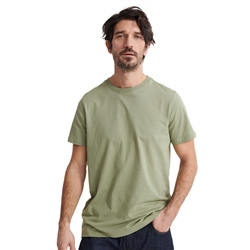 Superdry Standard Label T-Shirt - Oil Green