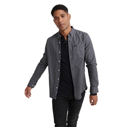 Superdry Classic London Shirt - Black Gingham