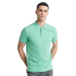 Superdry Classic Micro Lite Pique Polo Shirt - Awesome Mint