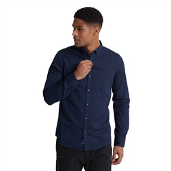Superdry Classic Twill Lite Shirt - Nordic Navy