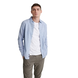 Superdry Loom Shirt - Broken Chambray