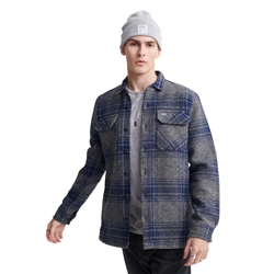 Superdry Miller Flannel Shirt - Grey Check
