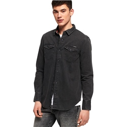 Superdry Resurrection Shirt - Authentic Grey