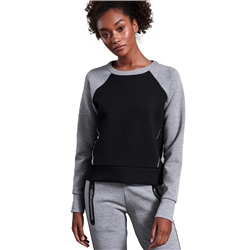 Superdry Core Gym Tech Panerl Sweatshirt - City Grey Marl