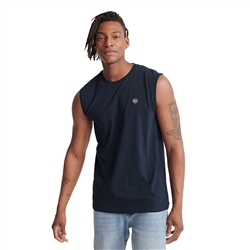 Superdry Collective Oversized Vest - Rich Navy