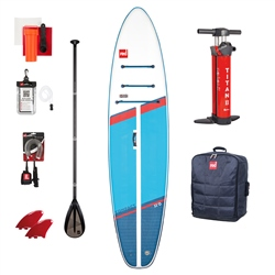"Red Paddle 11'0"" Compact SUP Carbon 50 Nylon Package - Blue"