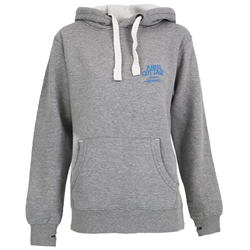 ACS Clothing Polzeath Hoody - Dusty Grey & Cyan