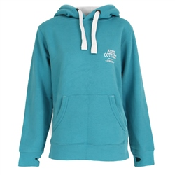 ACS Clothing Polzeath Hoody - Lagoon & White