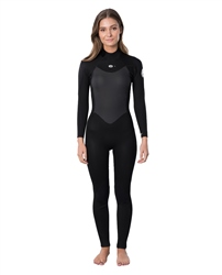 Rip Curl Omega 5/3mm Back Zip Wetsuit (2020) - Black