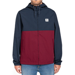 Element Alder Two Tones Jacket - Vintage Red