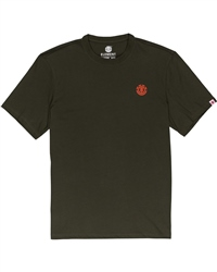 Element Marks T-Shirt - Forest Night