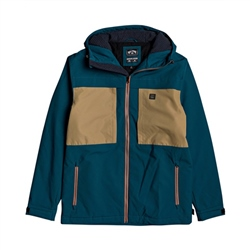 Billabong Cliff Stretch 10K Jacket - Deep Teal