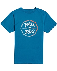 Billabong Octo T-Shirt - Bay Blue