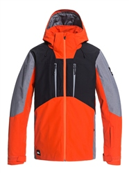 Quiksilver Mission Plus Jacket - Pureed Pumpkin
