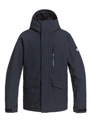 Quiksilver Mission Solid Jacket - True Black