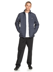 Quiksilver Scaly Zip Puffa Jacket - Parisian Night