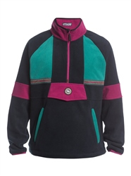Quiksilver Soul Power Half-Zip Fleece - Black